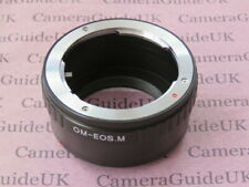 OM-EOS M Adapter Ring for For Olympus Lens to EOS M Camera M5 M6 M3 M10