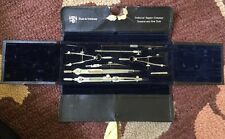 VINTAGE DRAFTING SET MADE IN GERMANY FOR TECHNICAL SUPPLY CO NEW YORK
