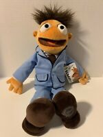 """The Muppets 18"""" Walter Plush Authentic With Tags Disney Exclusive"""