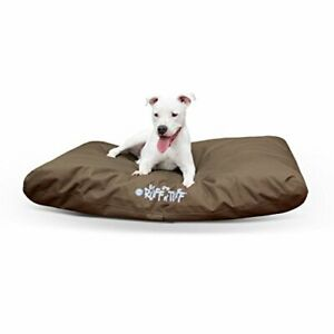 "K&H Pet Products K-9 Ruff n' Tuff Pet Bed Large Chocolate 36"" x 48"""