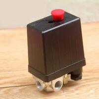Air Compressor Switch Pressure Pump Vertical 4 Way Control Valve 220/380V Tool