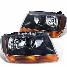 HOLIDAY RAMBLER IMPERIAL 2003 2004 2005 PAIR HEADLIGHT HEAD LIGHT FRONT LAMPS RV