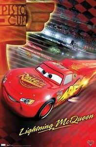 Disney Pixar Cars - Piston Cup Poster