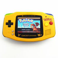 Limited Version Pokemen Game Boy Advance Console With AGS-101 Backlight Screen