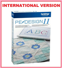 BROTHER PE DESIGN 11 - Embroidery Software + 220 000 Designs ⭐FULL VERSION⭐
