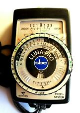 Gossen Luna-Pro SBC Light Meter with Leather Case