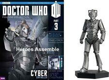 Doctor Who Statuina collezione #3 Cyber Controller Eaglemoss Cyberman Magazine