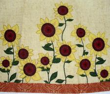 Kitchen Dish Towels W/ Crochet Tops Listing #T268 Autumn Sunflowers