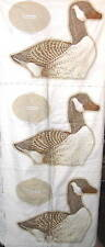 Canadian Goose Fabric Panel centerpiece doorstop VIP