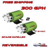 Ballast Bag Reversible Water Pump WakeBoard Boat 12v similar 2 Jabsco Puppy