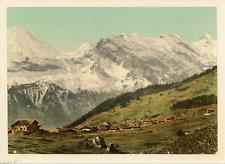 Suisse, Alpes, ca.1895, vintage photochrome vintage photochrome photochromie