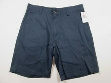 NEW Nautica True Khaki Casual Shorts Mens Size 34 Navy Blue Cotton Sailing $34