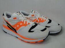 Saucony Azura Size US 9 M (D) EU 42.5 Men's Running Shoes White/ Orange S70437-2