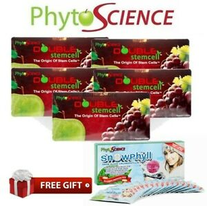 5x PhytoScience 1x Snowphyll ANTI AGING Beauty Supplement -Same Day Ship