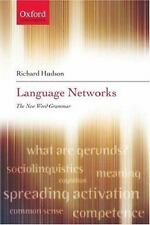 Language Networks : The New Word Grammar by Richard Hudson (2007, Paperback)