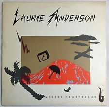 Mister Heartbreaker LAURIE ANDERSON Vinyl Record Belew Original Inner Sleeve NR