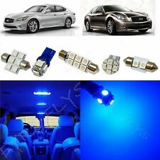 11x Blue LED light interior package for Infiniti M35/M37/M45 IM1B