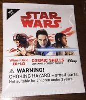 Winn Dixie Bi- Lo Star Wars Cosmic Shells - New