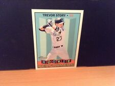 2016 Topps Heritage High Number Rookie Performers RP TS Trevor Story - Rockies