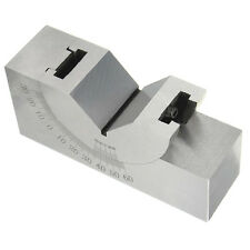 75x25x32mm Toolmaker Precision Micro Adjustable Angle V Block Milling 0°- 60°