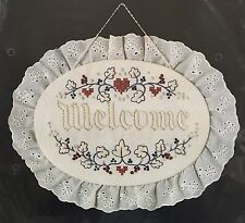 Dimensions Colonial Candlewicking Americana Welcome Sign Embroidery Kit New