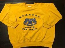 Vintage North Carolina A&T Aggie Pep Band 50/50 Sweatshirt L