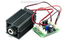 Dot Red Laser Lights 100mW 650nm Focusable Diode Module w Fan Long-time Work