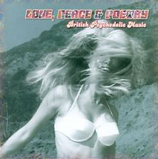 LOVE,PEACE & POETRY-BRITISH PSYCHEDELIC MUSIC  CD NEUF