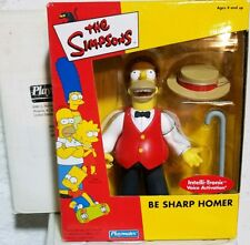 The Simpsons Playmates Mail Away Interactive Figure Be Sharp Homer Mib