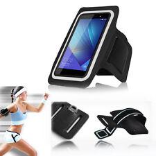 Étuis, housses et coques brassards noirs pour téléphone mobile et assistant personnel (PDA) Huawei