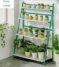Flower Pot Plant Stand 4 Tiers Flower Planter Rack Shelf Shelves Organizer
