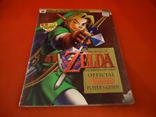 The Legend of Zelda Ocarina of Time Nintendo 64 N64 Strategy Book w/ KB Poster!