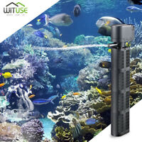 Silent Aquarium Filter Internal Fish Tank Submersible Oxygen Air Pump 220-240V
