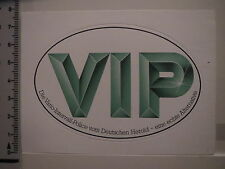 Sticker German Herold VIP Vario interval Police Green White (1023)