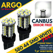 580 Led Xenon White T20 7443 W21/5w Daytime Running Fiat 500 2007 Abarth Canbus