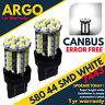 2 X Fiat 500 2007+ Abarth 580 7443 W21/5w T20 Drl Bulbs White Daytime Running