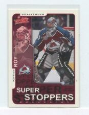 PATRICK ROY 2001-02 Upper Deck Victory Super Stoppers Insert Card #83