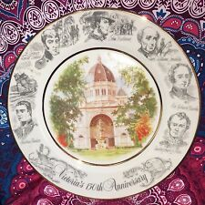 Estate Collectable  Victoria 150 Display Plate Vintage 1984 Macquarie Heritage