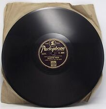 """JIMMY SHAND AND HIS BAND : SILVERTON POLKA 78 rpm 10"""" Record"""