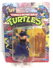 Teenage Mutant Ninja Turtles TMNT Shredder 44 Back Unpunched MOC Playmates 1990