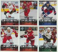 2008-09 Upper Deck Series 1 YOUNG GUNS Rookie U-Pick COMPLETE YOUR SETS