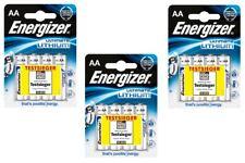 12x Energizer Ultimate Pile Lithium aa-mignon MN1500 LR6 L91