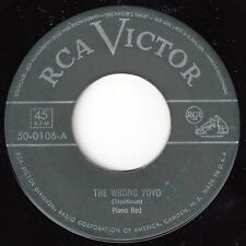 ♫PIANO RED The Wrong Yoyo/My Gal Jo RCA Victor 50-0106 1950 BLUES♫