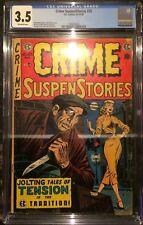 Crime SuspenStories #25 CGC 3.5 EC Comics