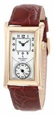 Peugeot Vintage Leather Band Doctors Nurse Watch Unique For Timepiece Collectors