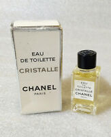 VTG Mini Eau Toilette ✿ CRISTALLE by CHANEL ✿ Mini Perfume (4,5ml. = 0.15 fl.oz)
