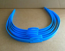 Hedbanz Board Game Blue Replacement Head Bands Lot of 6 sa