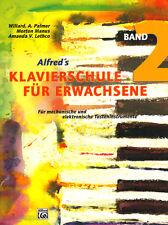 Alfred's Klavierschule für Erwachsene Band 2 Noten