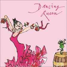 Quentin Blake Dancing Queen Feliz Cumpleaños tarjeta de saludo Plaza Humor Tarjetas