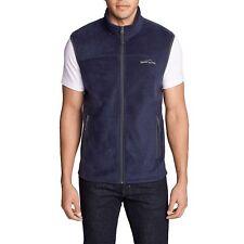 Eddie Bauer Mens Size 2X-Large Quest 200 Fleece Vest, Atlantic